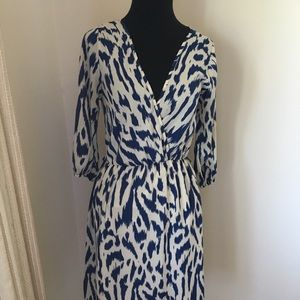Everly faux wrap dress